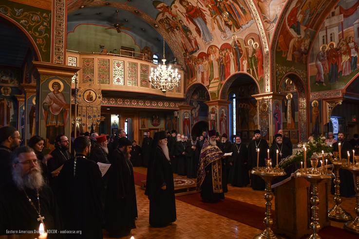 Благочинный Нью-Йоркского округа протоиерей Александр Беля принял участие в великопостном говении духовенства Восточно-Американской епархии