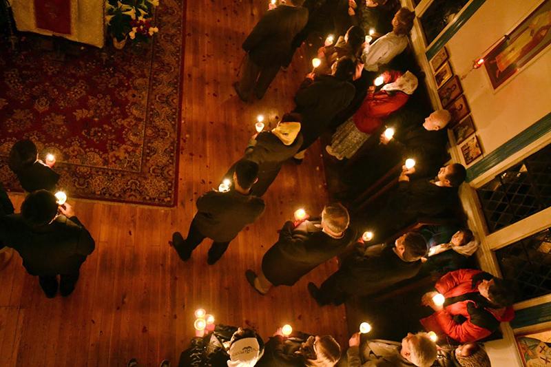 Как в храмах Нью-Йоркского благочиния встретили Пасху – фоторепортаж