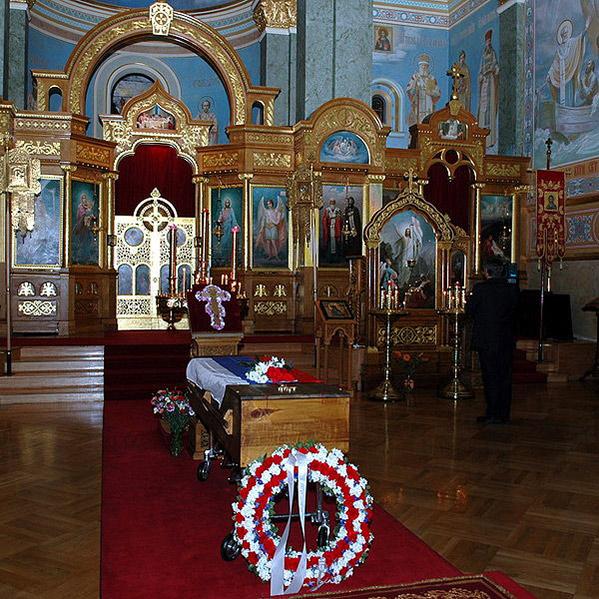 Свято-Николаевский патриарший собор Нью-Йорка. Интерьер