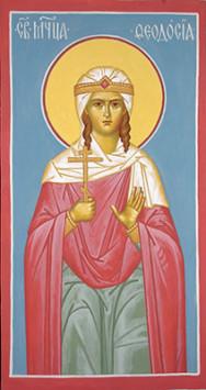 St. Martyress Theodosia of Tyre