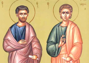 Sts. Carpus and Alphaeus of Seventy Apostles