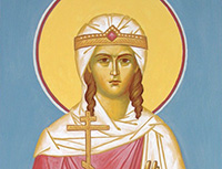 St. Martyress Theodosia of Tyre (IV) and St. Venerable Martyress Theodosia of Constantinople (VIII)