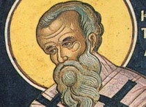 St. Metrophanes the first Patriarch of Constantinople (†325)