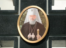 In the Cathedral of St. John the Forerunner prayed for the repose of soul of Most Blessed Metropolitan Volodymyr (Sabodan)
