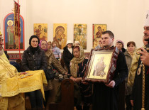 The relics of St. Prince Vladimir, the Baptizer of Rus, were brought to Brooklyn