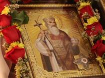 The holy relics of Baptizer of Rus in our church